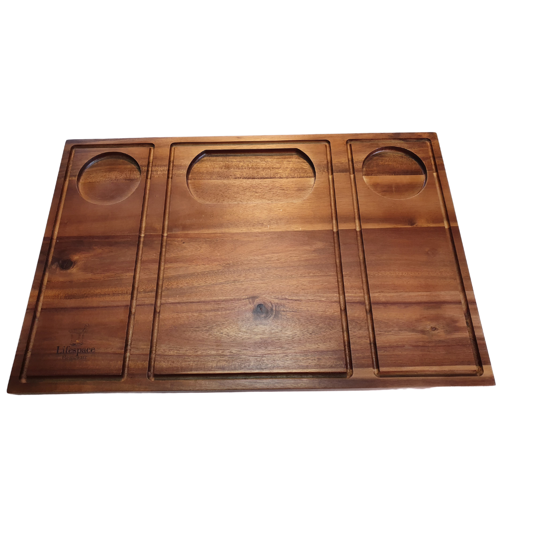 Braai Cutting Board with grooves
