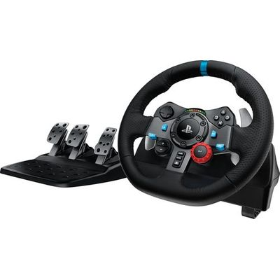Logitech G29 Driving Force Racing Wheel and Pedals - for PS4, PS3 and PC